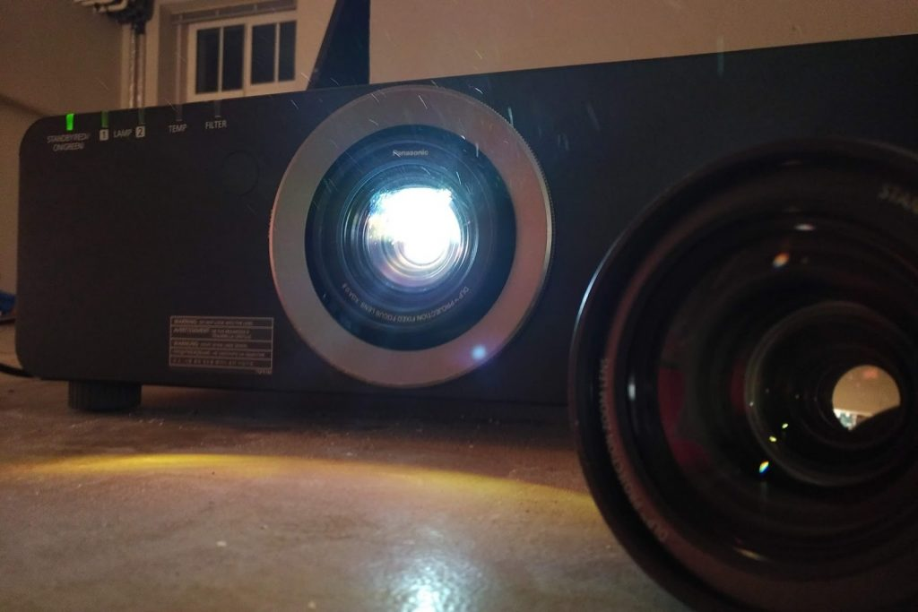 Panasonic Beamer Objektiv